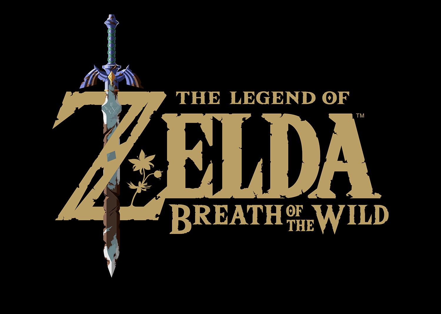 Логотип игры The Legend of Zelda: Breath of the Wild